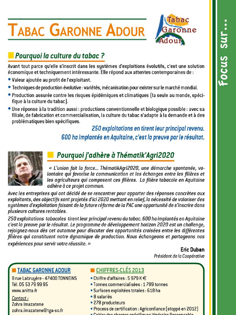 Tabac Garonne Adour